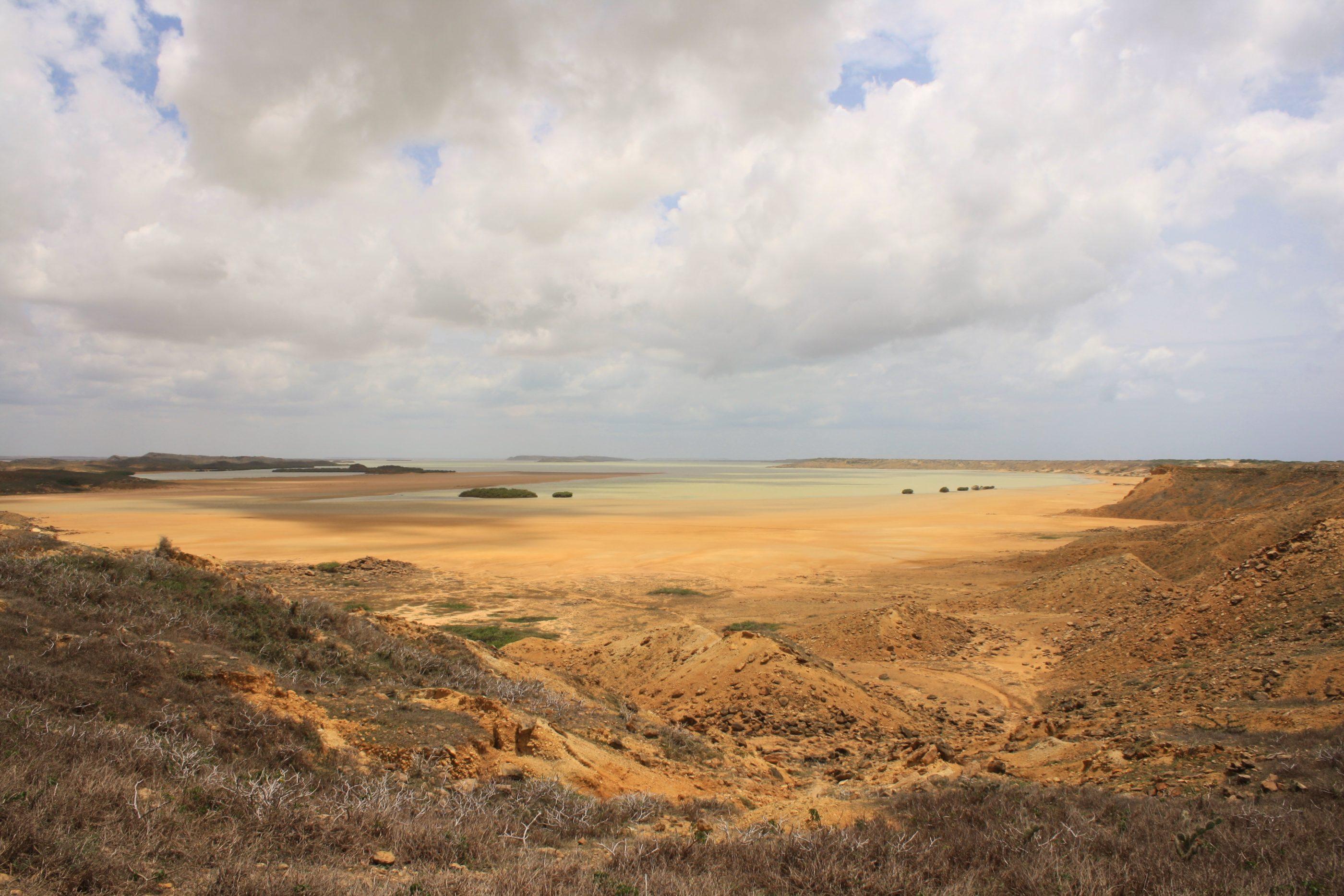 Blick auf die Bahía Hondita - Punta Gallinas - La Guajira